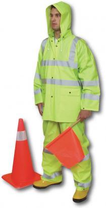 CL3 3Pc. PVC Rainsuit
